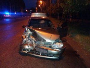 В спальном районе Запорожья столкнулись два «Ланоса»: есть пострадавший - ФОТО