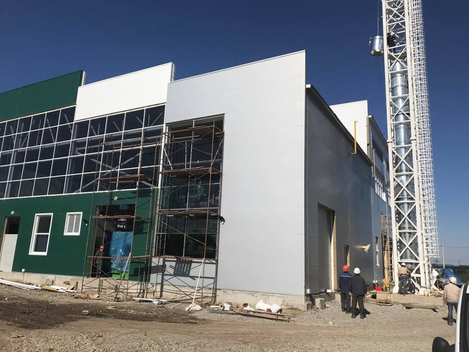 В Украине завершается строительство первой ТЭС на биомассе