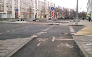 В Запорожье появится еще одна велодорожка, которая не слишком радует велоактивистов