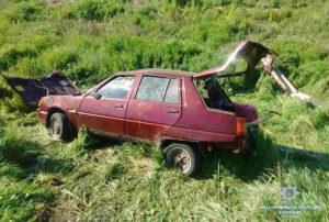 В Запорожском районе легковушка слетела в кювет: есть погибший - ФОТО