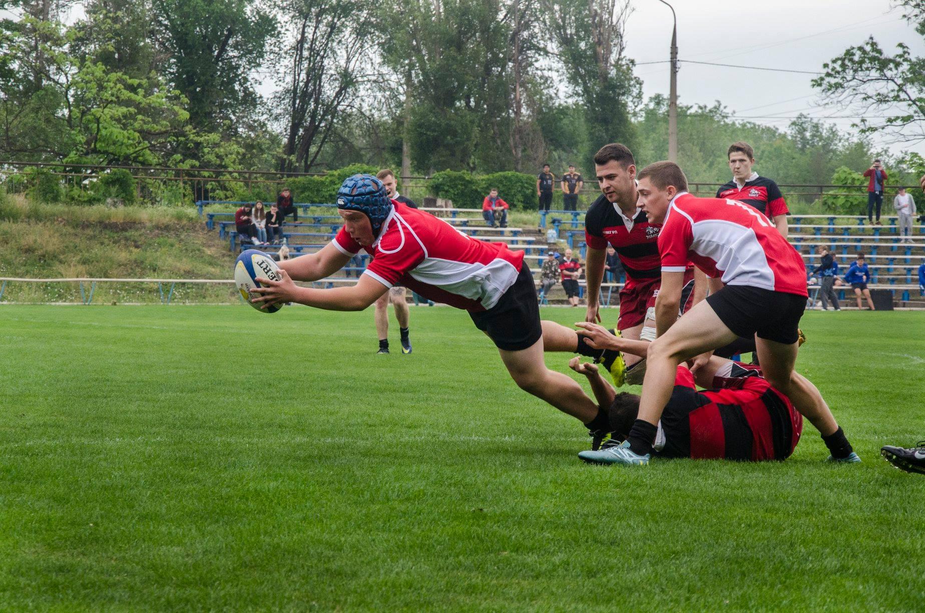 В Запорожье впервые прошел турнир по регби - ФОТО, ВИДЕО
