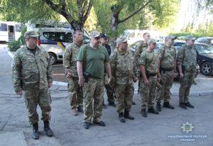 Запорожские полицейские отправились на ротацию в зону проведения ООС - ФОТО