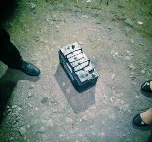 В Запорожье ночью задержали аккумуляторных воров - ФОТО