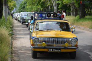 В Запорожье владельцы культового автомобиля «Волга» провели весенний слет - ФОТО, ВИДЕО