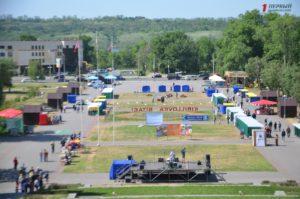 Живой уголок, презентации летнего отдыха и выставки: как в Запорожье проходит туристический фестиваль  - ФОТО