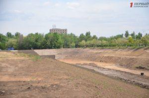В Запорожье «кипят» работы по реконструкции ландшафтного парка на Радуге – ФОТО
