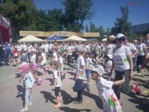 Тысячи запорожцев собрались на старте семейного праздника