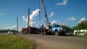 В Запорожье грузовик попал в ДТП и перевернулся - ФОТО