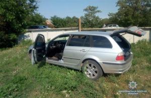 В Запорожской области полиция с погоней и стрельбой задержала банду грабителей - ФОТО