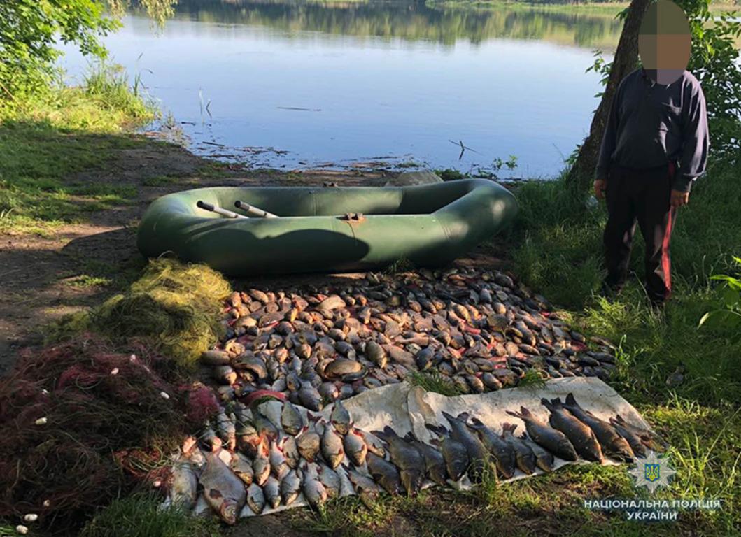 В Запорожской области поймали браконьера с уловом на 11 тысяч гривен - ФОТО