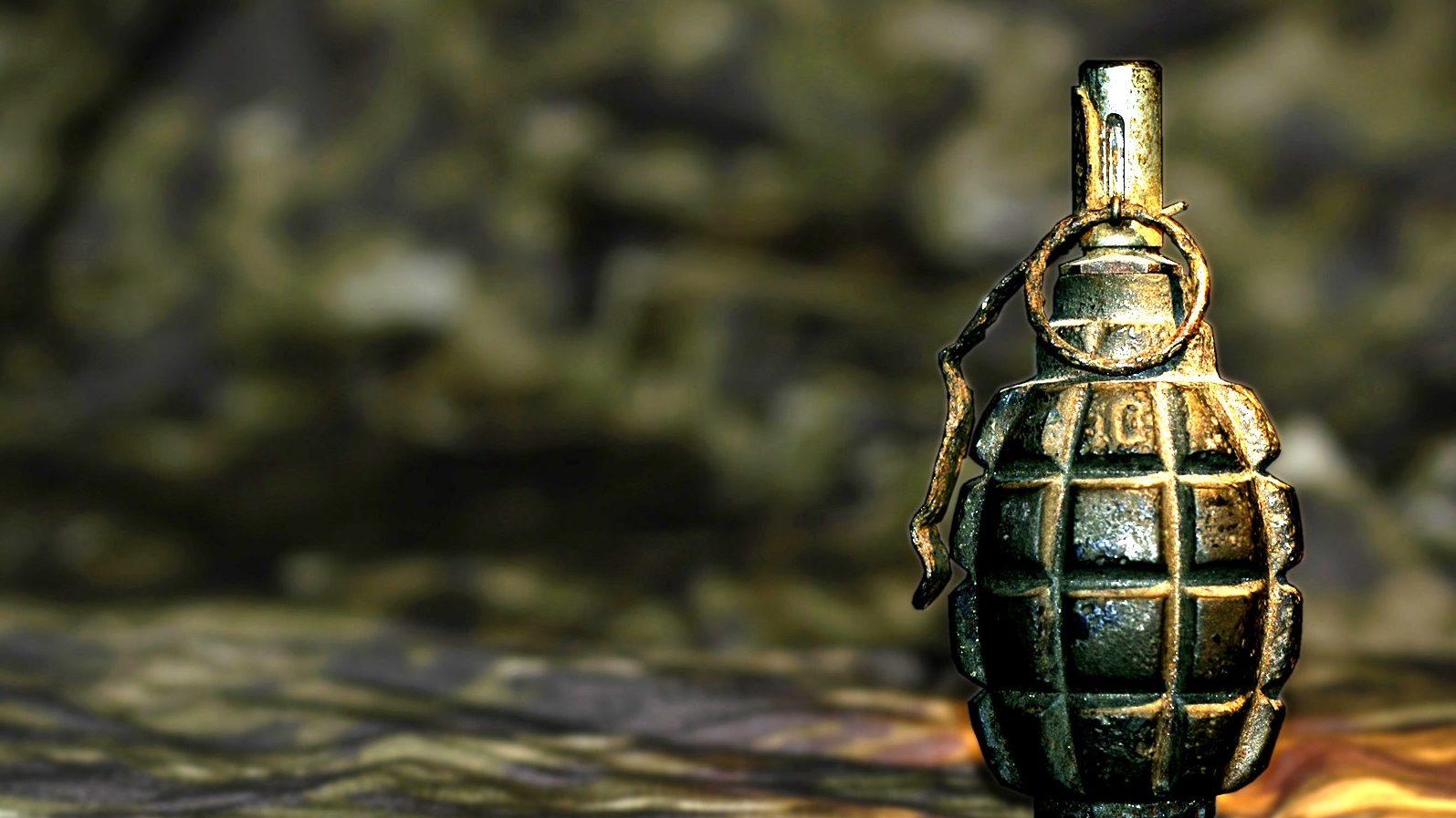 Сегодня в запорожском парке нашли гранату Ф-1