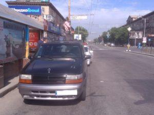 В центре Запорожья двадцатилетний водитель сбил пешехода: мужчина госпитализирован в больницу – ФОТО