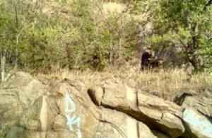 В Запорожье девушка сорвалась с 10-метровой скалы