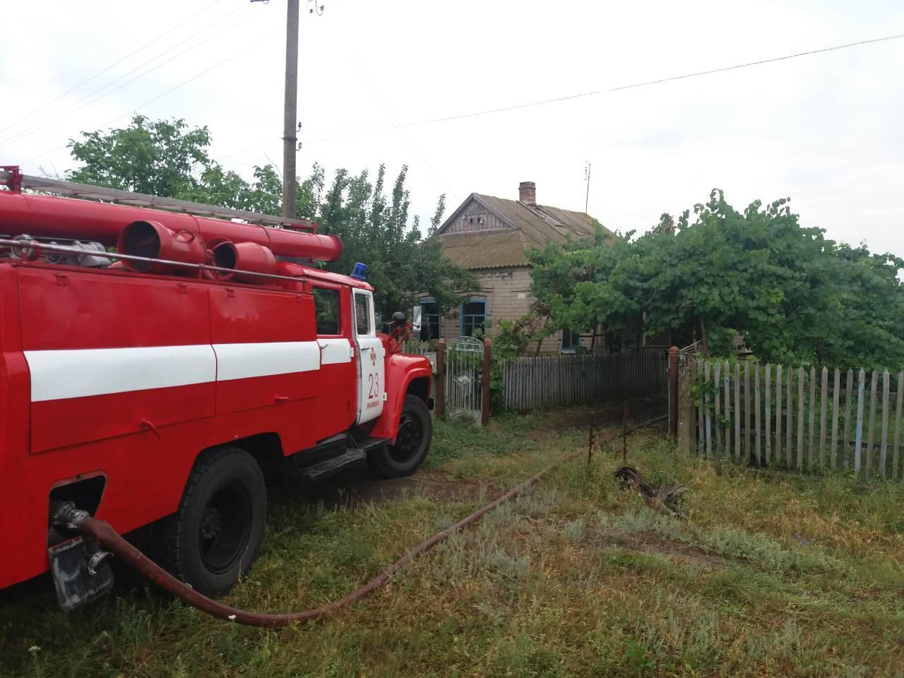 В Запорожской области мужчина заживо сгорел в своем доме - ФОТО