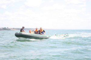 В Запорожской области на воде спасли четырех отдыхающих