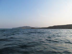 На запорожском курорте в открытое море уносило лодку с отдыхающими