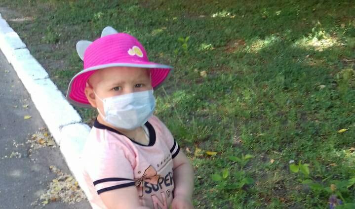 В Запорожской области четырехлетней девочке нужна пoмощь в борьбе с раком - ВИДЕО