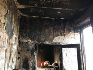 В Запорожской области сгорел дом ветерана АТО и золотого призера нацотбора «Игр непокоренных» - ФОТО