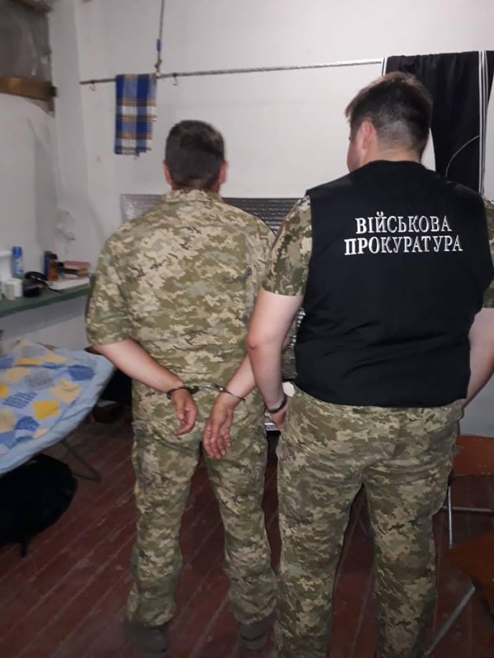 В Запорожье задержали на взятке подполковника ВСУ - ФОТО