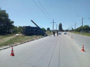 В Запорожье произошло очередное смертельное ДТП с маршруткой - ФОТО