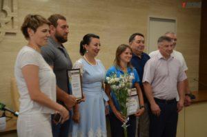 В Запорожье отметили призеров международных спортивных соревнований - ФОТО