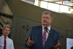 В Запорожье президент проверил работу ГП