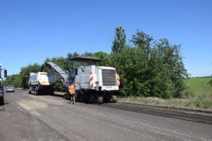 В Запорожской области ремонтируют