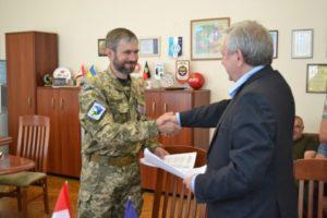 Запорожские воины АТО пройдут переподготовку и получат новую работу благодаря совместному проекту с парламентом Канады – ФОТО