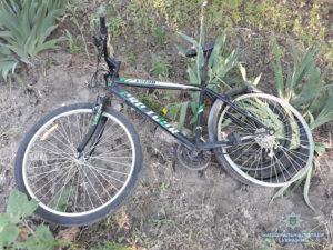 Жители Запорожья самостоятельно задержали вора, который хотел украсть велосипед