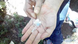 В Запорожье полицейские изъяли наркотики в речном порту - ФОТО