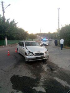 В Запорожье восемнадцатилетний парень попал в больницу после серьезного ДТП - ФОТО