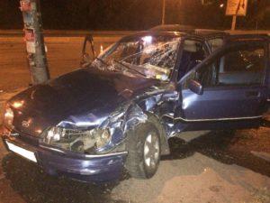В Запорожье пьяный водитель спровоцировал ДТП и отправил в больницу 20-летнюю девушку – ФОТО