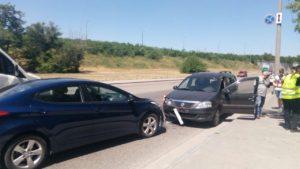 В Запорожье на Хортице пьяный водитель попал в ДТП – ФОТО