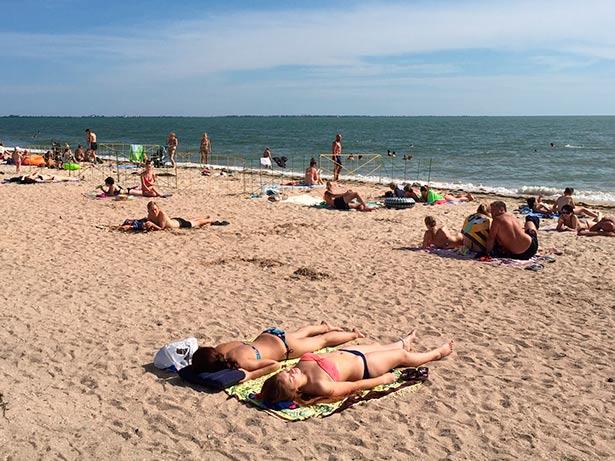 В Запорожской области на пляже обокрали отдыхающую