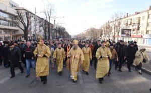 В Запорожской области сотрудники СБУ блокировали автобусы с паломниками УПЦ, ехавшими на Крестный ход в Киев - ВИДЕО