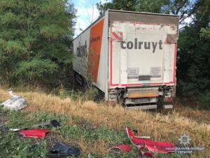 В результате ДТП на запорожской трассе погибли двое мужчин: подробности - ФОТО
