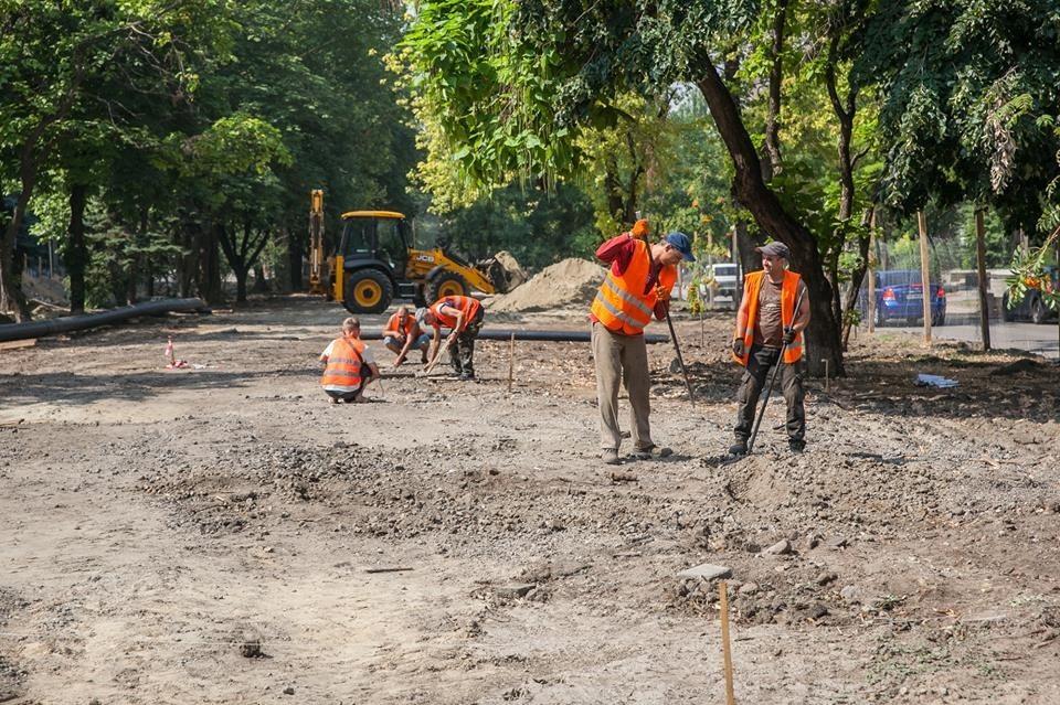 Как в Запорожье проходит реконструкция проспекта Маяковского - ФОТО