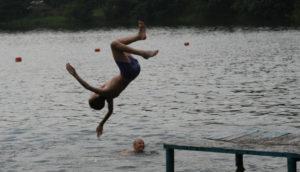 В Запорожье подросток получил травму в речном порту