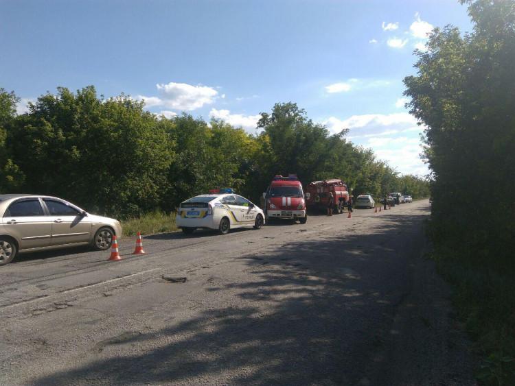 В Запорожской области перевернулся автомобиль с военными: есть погибший - ФОТО