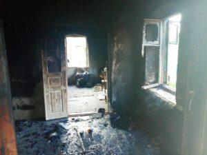 В Запорожской области произошел смертельный пожар: погиб мужчина - ФОТО