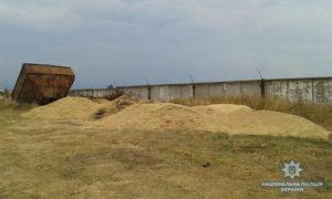 В Запорожской области с частного сельхозпредприятия пытались украсть тонну зерна - ФОТО
