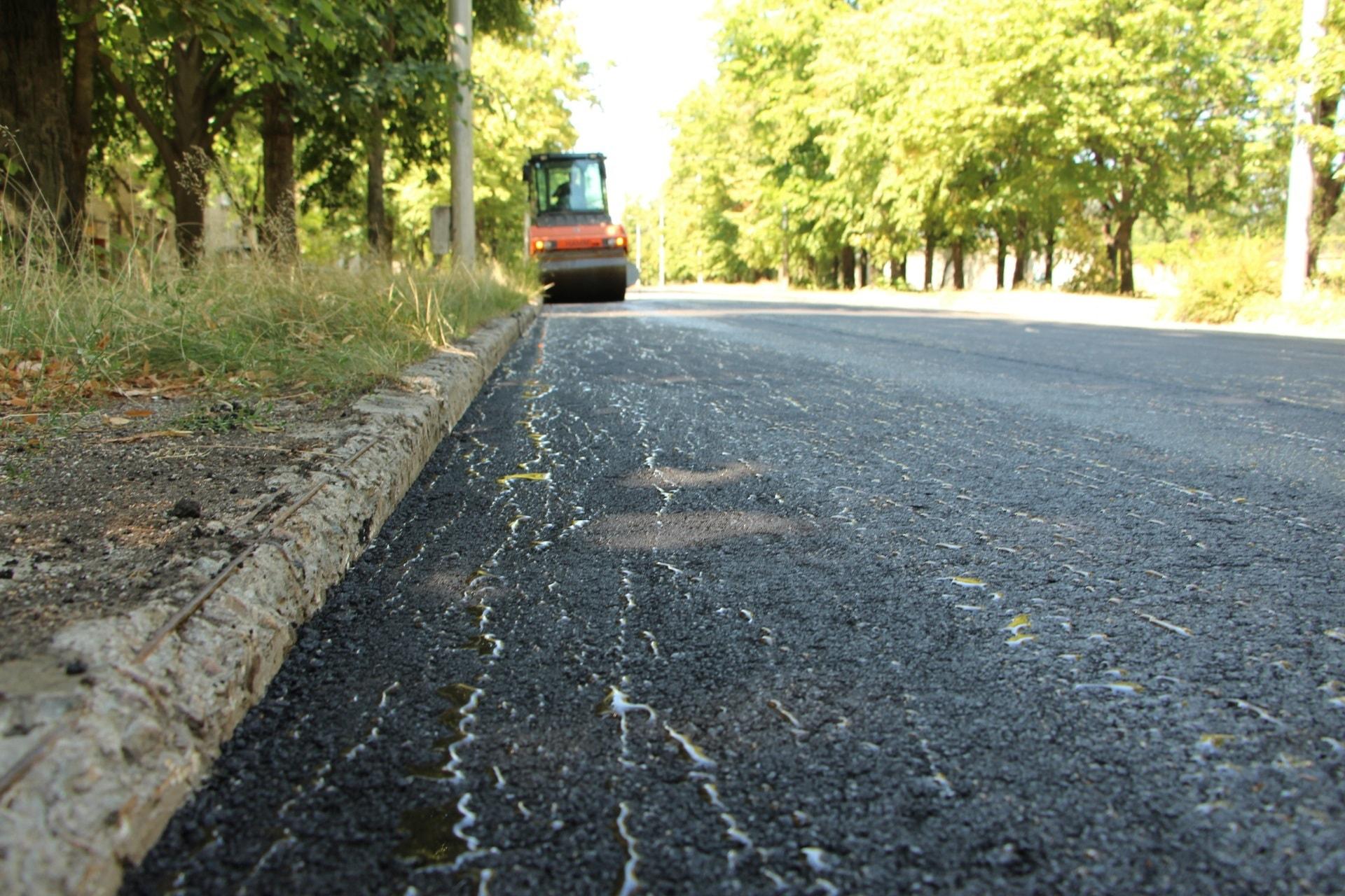 В Запорожье отремонтировали дорогу по улице Сергея Синенко - ФОТО