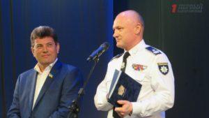 В Запорожье полицейские торжественно отметили третью годовщину создания Нацполиции - ФОТО