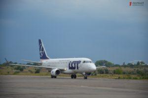 В аэропорту Запорожья открылся новый регулярный рейс в Европу - ФОТО