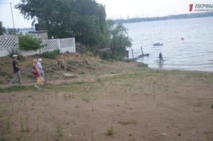 В Запорожье никак не могут приступить к реконструкции Правобережного пляжа за 13 миллионов гривен - ФОТО