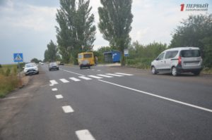 Запорожский губернатор проверил, как турки ремонтируют дорогу Запорожье-Беленькое