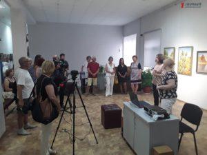 В Запорожье открылась экзотическая выставка картин австралийского художника - ФОТО