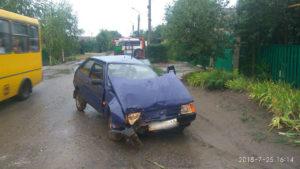 В Запорожье пьяный водитель