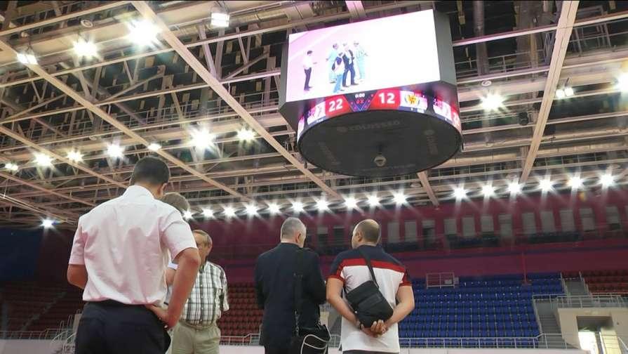 Инспекторы ЕHF проверили готовность запорожского дворца спорта «Юность» - ФОТО, ВИДЕО
