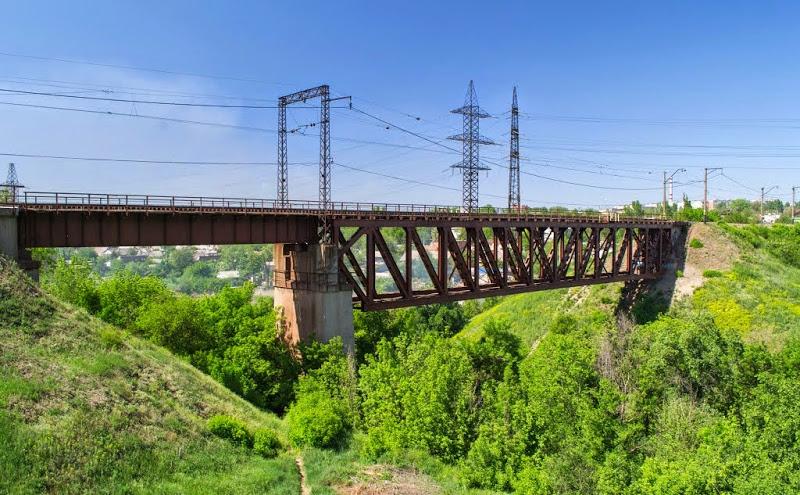 В Запорожской области выполнят капитальный ремонт 115-летнего моста - ФОТО